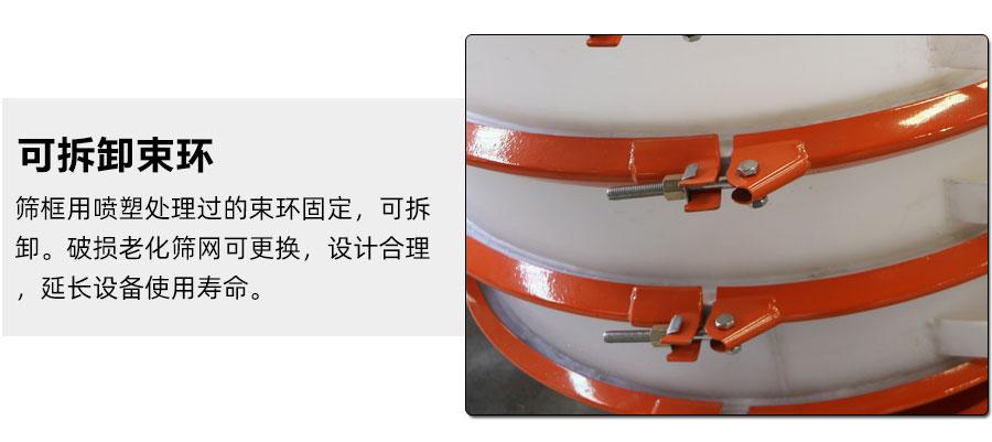 φ800xing防腐振动筛细节图